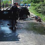Circulație închisă pe DN 7. Un accident grav a avut loc lângă Milova