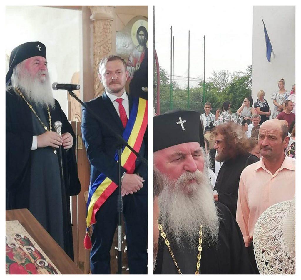 """Sfânta treime"", sfințirea bisericii ortodoxe din comuna Biled"