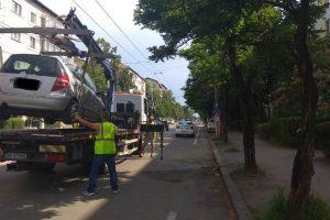 Se menţin restricțiile de parcare pe Calea Martirilor