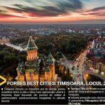 Robu: Timișoara din nou pe primul loc între orașele României altele decât Capitala!