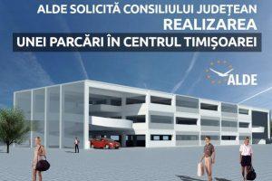 Deputatul Marian Cucșa, președintele ALDE Timiș: Solicităm Consiliului Județean realizarea unei parcări în centrul Timișoarei