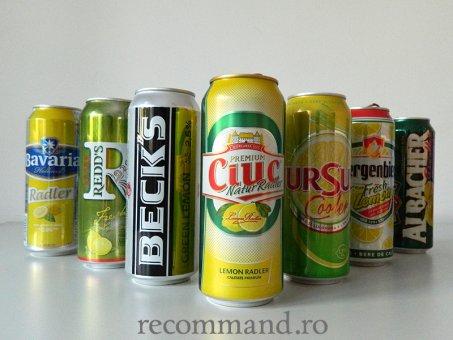 Bere cu fruct/aromă! – 37,5% din produse nu au menționat pe eticheta conținutul de bere ! Bere chiar și cu 13 E-uri