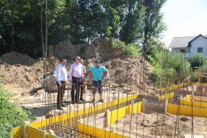 Stadiul lucrărilor la blocurile ANL destinate tinerilor și cadrelor medicale la Giroc