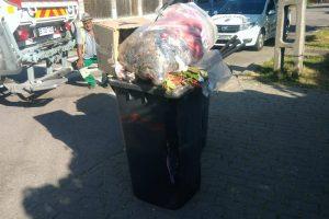 Polițiștii locali, reprezentanții ADID și Retim au verificat modul de colectare a deșeurilor în Fratelia