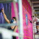 Tunelul auto din Timişoara care devine galerie de artă stradală