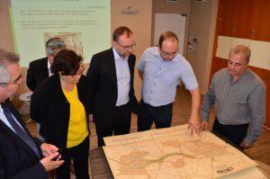 Delegația Comisiei Europene, în vizită la Aquatim