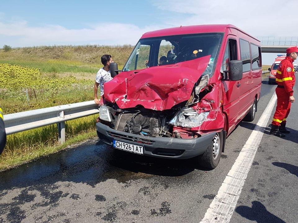 Accident pe A1 între Orțișoara și Timișoara