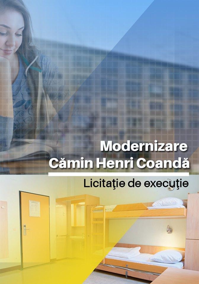 Trei firme, interesate să renoveze căminul Colegiului Tehnic Henri Coandă