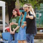 Spectacol lectură și discuții despre cartier, în Piața Mocioni
