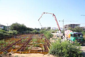A fost turnată fundația viitoarelor blocuri pentru tineri, în Giroc