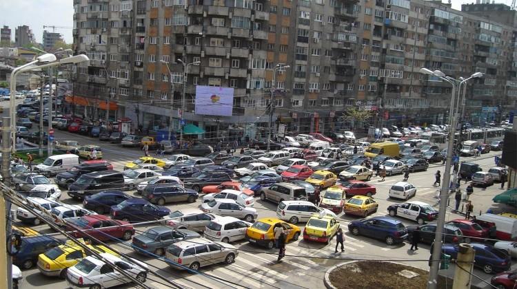 Vinietă pentru intrarea în București. Mașinile sub Euro 3, interzise în centru