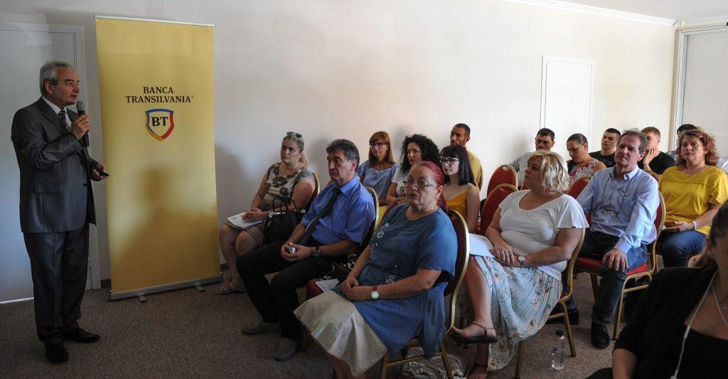 Soluții financiare de susținere a mediului antreprenorial prezentate într-un seminar organizat de CCIA Timiș