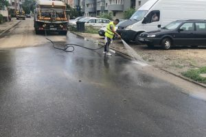 Vineri, se va finaliza dezinfecţia pe toate străzile din Timişoara