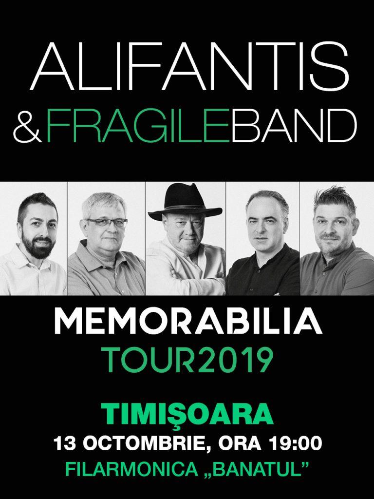 Nicu Alifantis la Timișoara, în turneul Memorabilia – un omagiu adus teatrului românesc în semn de mulțumire