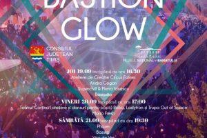 Program bogat la Bastion Glow, evenimentul care va face Cetatea să strălucească
