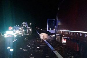 Accident grav pe Autostrada A1, între Deva și Ilia. Doi oameni au murit