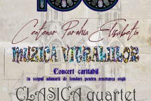 Concert caritabil organizat de Muzeul Banatului şi Parohia Romano – Catolică Elisabetin