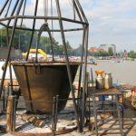 Ciorbă de pește cum numai la Szeged se face. Bănățenii sunt poftiţi la degustare