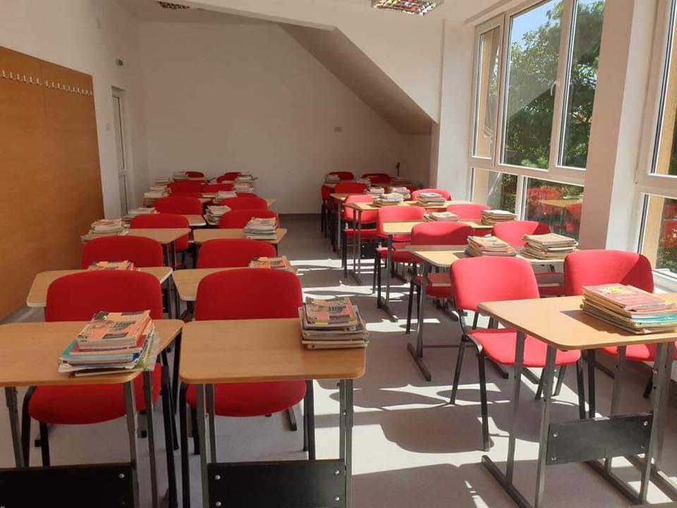 Noi săli de clasă au fost amenajate la Liceul Vlad Ţepeş