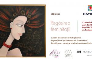 18 artiști plastici din Timişoara și-au donat lucrările în sprijinul unor paciente care au depășit cancerul de sân