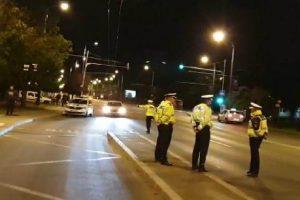 Poliţiştii de la Rutieră au dat peste 100 de amenzi pe zi