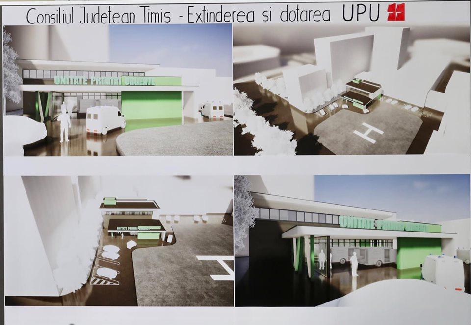 A fost semnat contractul de proiectare și execuție a extinderii, modernizării și dotării Unității de Primiri Urgențe a Spitalului Județean