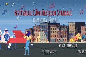 Festivalul Cântăreților Stradali va ţine patru ore şi va avea loc în Piaţa Libertăţii