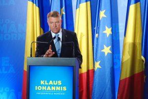 Klaus Iohannis şi-a lansat la Timişoara candidatura pentru un nou mandat de președinte