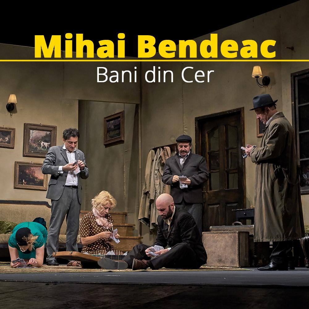 """A şasea ploaie """"Bani din cer"""" adusă de Mihai Bendeac peste Timișoara"""