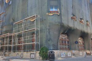 Clădirea în care își are sediul Filiala Timiș a PNL a intrat in reabilitare