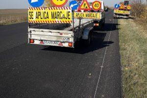 Continuă lucrările pe drumul naţional Timişoara-Arad