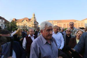 Mircea Diaconu, în vizită la Timişoara. Vrea să fie mediator și unificator al societății