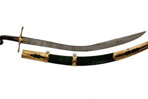 Sabia nobililor Osztoics, una dintre cele mai valoroase piese din lotul armelor deţinut de Muzeul Banatului