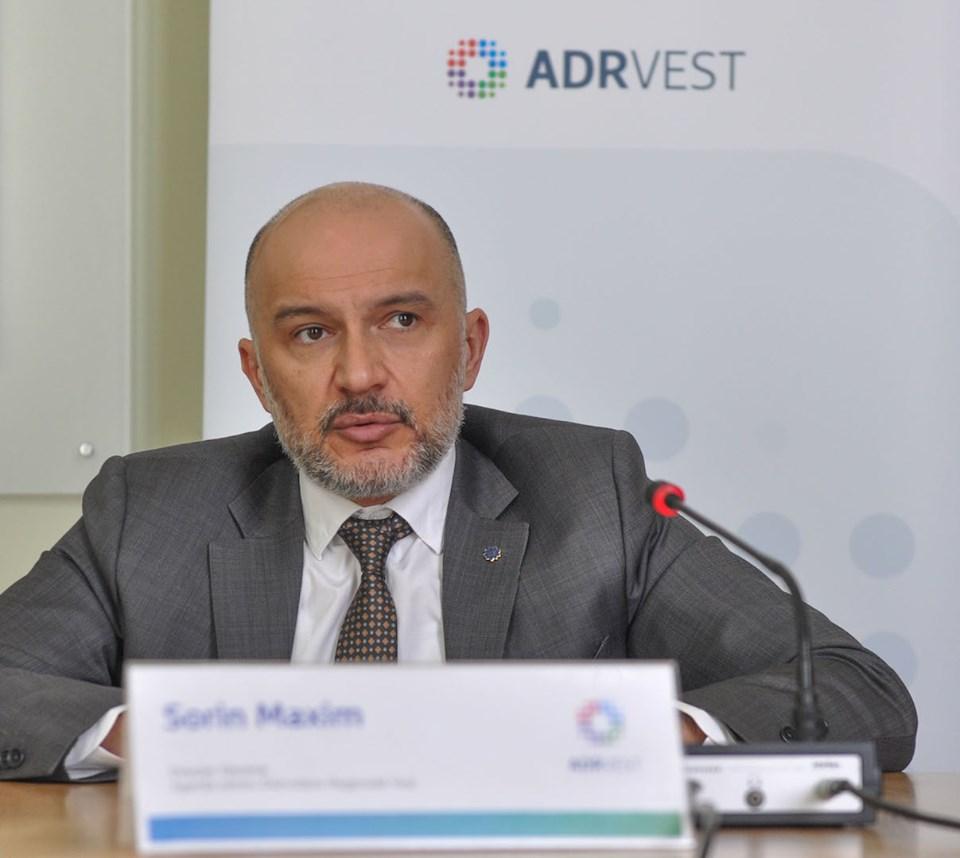 Sorin Maxim, reales președinte al Asociației Agențiilor pentru Dezvoltare Regională din România