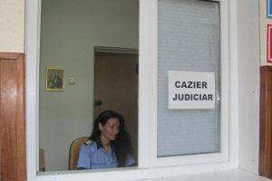 Ghișeu pentru eliberarea certificatului de cazier judiciar în orașul Buziaș