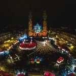 Foto. În curând se deschide Târgul de Crăciun de la Szeged, o atracție pentru timişeni