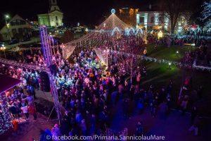 Orașul Sânnicolau Mare îmbracă straie de sărbătoare