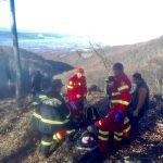 Misiune de salvare dificilă a pompierilor hunedoreni