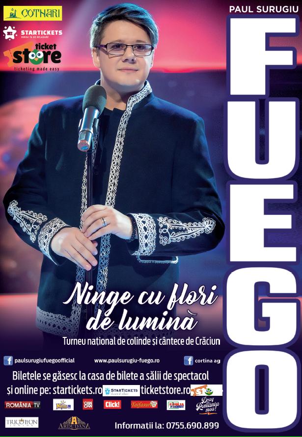 Fuego va susţine un concert la Opera timişoreană