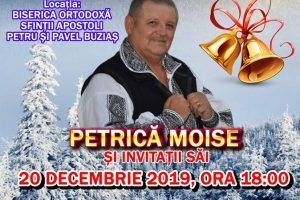 Petrică Moise revine la Buziaș cu un concert