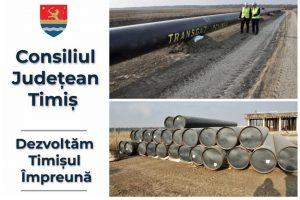 Trei milioane lei pentru demararea studiului de fezabilitate pentru alimentarea cu gaz în județul Timiș