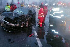 Şofer rănit grav în Arad