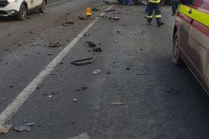 Accident la Remetea. Doi adulţi şi un copil au ajuns la spital