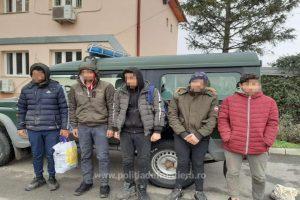 Cinci egipteni depistați pe malul românesc al Dunării