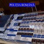 Poliţia a descins la contrabandişti de erbicide, ţigări şi alcool