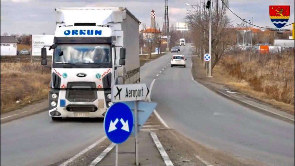 Drumul care duce spre Aeroport va fi lărgit la patru benzi