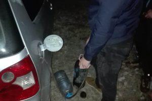"""Aproape fiecare litru de combustibil furat """"l-a costat"""" o oră de arest"""