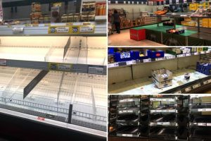 Magazine goale, oraşe în carantină şi panică în Italia din cauza coronavirusului