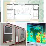 CJ Timiș cumpără 5 module duble pentru izolare și 11 termoscanere