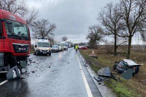 Accident grav în judeţul Arad